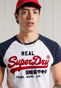 Superdry - Print T-shirt - ice marl - 2