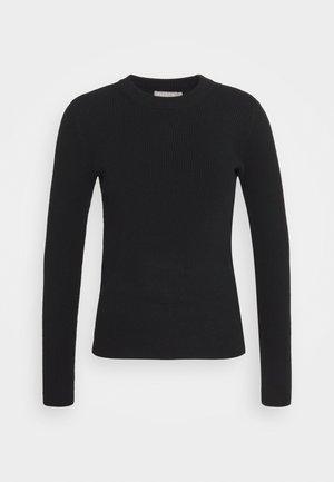PCBASSY O NECK - Sweter - black