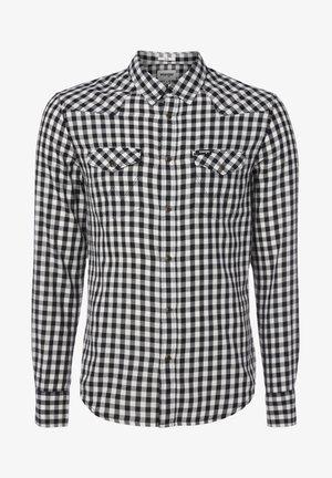 LS WESTERN - Overhemd - offwhite
