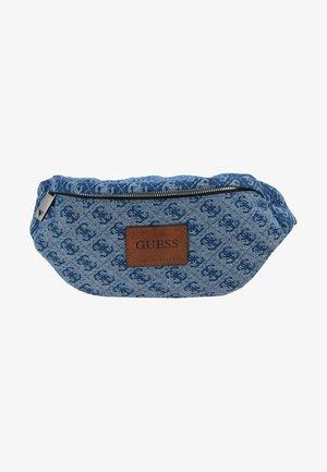 DAN LOGO BUMBAG - Bum bag - blue