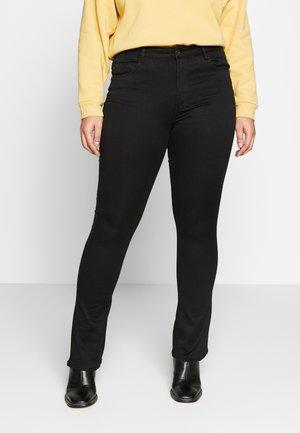CARAUGUSTA - Jeans bootcut - black