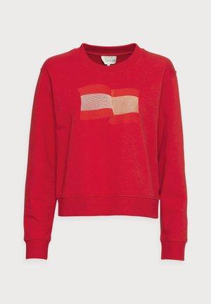 ICON REGULAR SWEATSHIRT - Sweatshirt - red