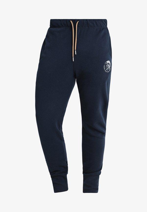 Diesel UMLB-PETER TROUSERS - Spodnie treningowe - blau/niebieski Odzież Męska IQMY