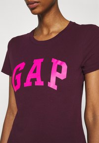 GAP - TEE - Print T-shirt - secret plum - 5