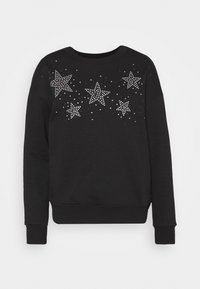 DIAMANTE STAR  - Sweatshirt - black