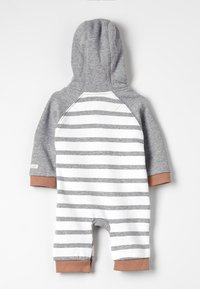 Jacky Baby - BABY OVERALL - Jumpsuit - grey/white/brown - 1