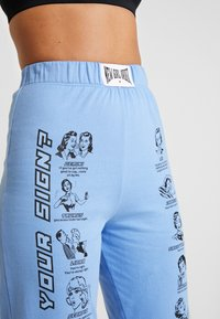 NEW girl ORDER - WHAT'S YOUR SIGN JOGGERS - Pantalon classique - blue - 4
