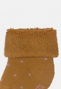 Lässig - NEWBORN 3 PACK - Ponožky - rose - 3