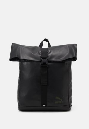 ROLLTOP BACKPACK UNISEX - Reppu - black
