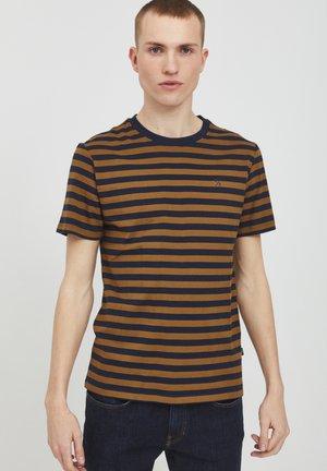 THOR STRIPED Y/D  - Print T-shirt - breen