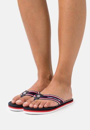 Sandály s odděleným palcem - navy/white/red