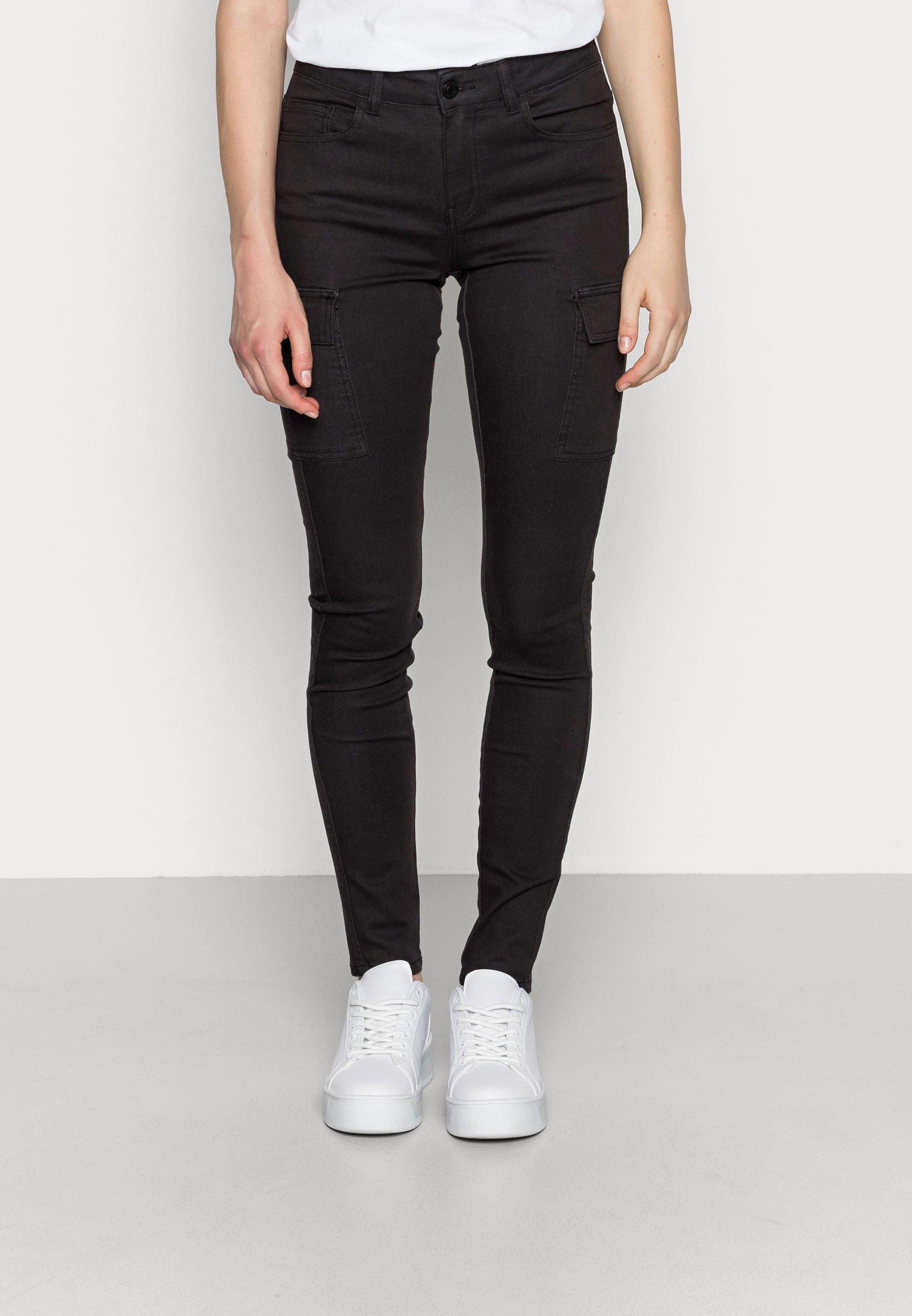 Donna NMLUCY UTILITY PANTS - Pantaloni