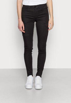 NMLUCY UTILITY PANTS - Bukser - black