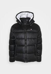Champion Reverse Weave - HOODED JACKET - Winter jacket - black - 5
