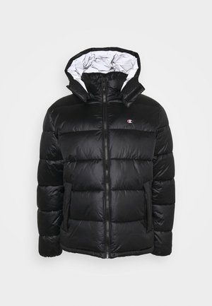 HOODED JACKET - Winter jacket - black