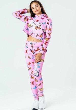BUTTERFLY - Hoodie - pink/multi