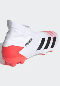 adidas Performance - PREDATOR 20.3 FIRM GROUND BOOTS - Moulded stud football boots - white - 4