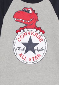 Converse - CHUCK PATCH COVERALL - Mono - dark grey heather