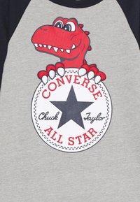 Converse - CHUCK PATCH COVERALL - Tuta jumpsuit - dark grey heather - 2