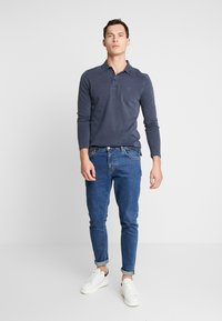 Marc O'Polo - LONG SLEEVE - Poloshirt - total eclipse - 1