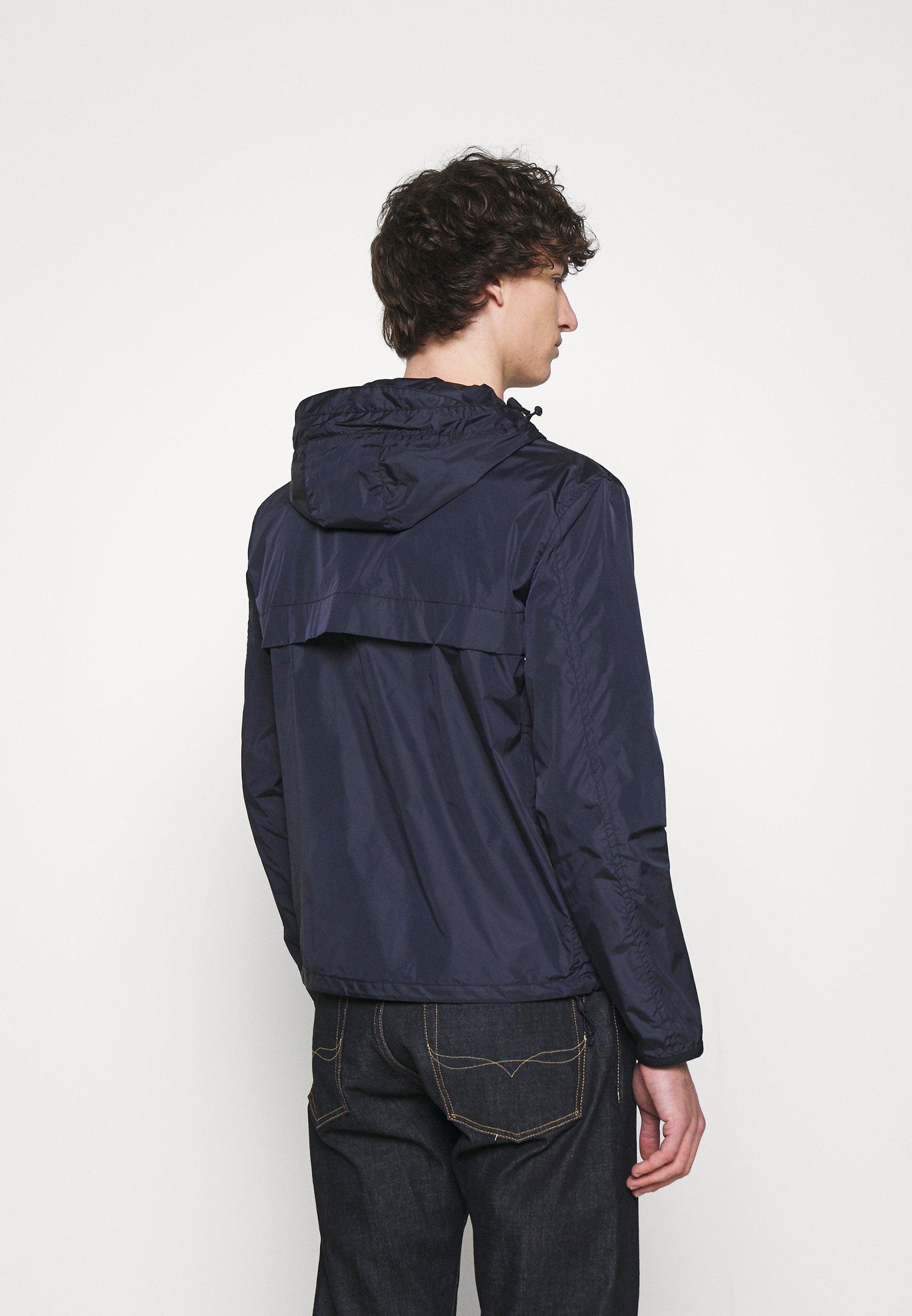 Men WATER-REPELLENT HOODED JACKET - Summer jacket