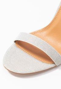 BEBO - Sandály na vysokém podpatku - silver shimmer - 2