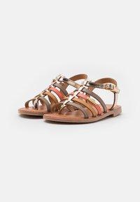 Les Tropéziennes par M Belarbi - HIRSON - T-bar sandals - taupe/multicolor - 1