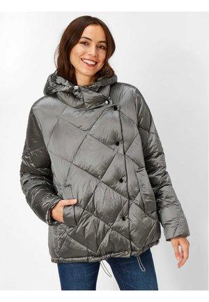 Winter jacket - silbergrau