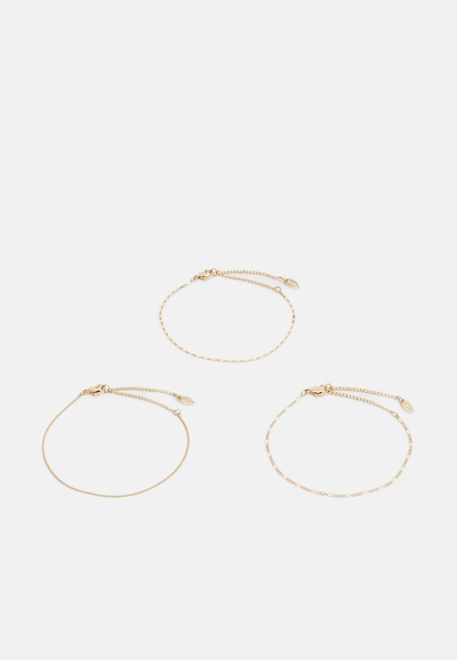 CHAIN WRISTWEAR 3 PACK - Rannekoru - gold-coloured