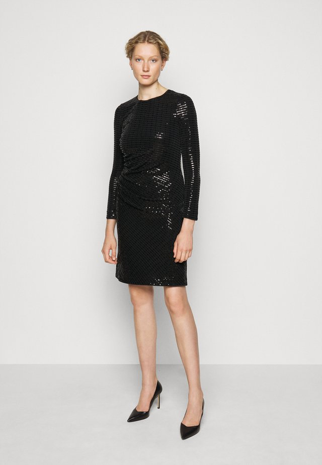 PARIS GLAM DRESS - Juhlamekko - black