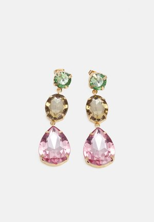 PCKRYS EARRINGS - Earrings - gold-coloured/multi