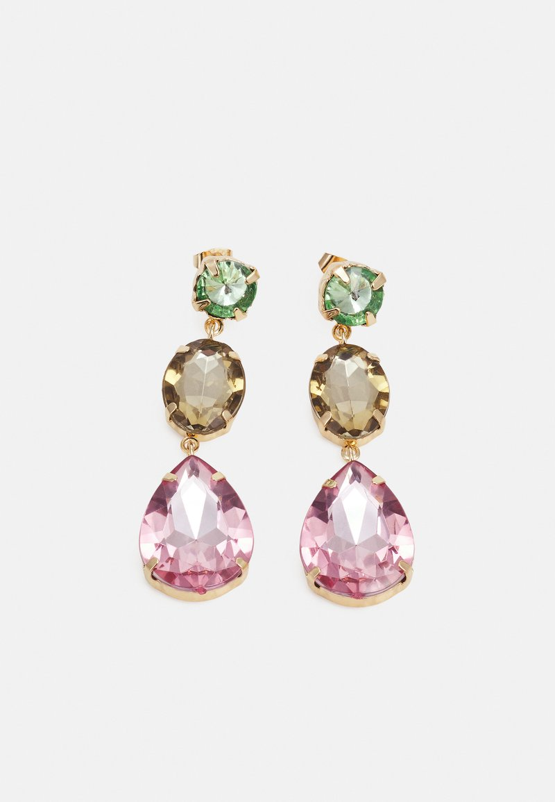 Pieces - PCKRYS EARRINGS - Earrings - gold-coloured/multi