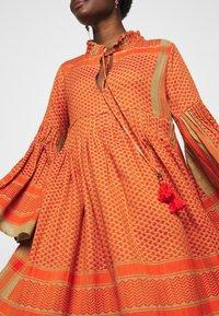 CECILIE copenhagen - SOUZARICA - Day dress - orange - 5