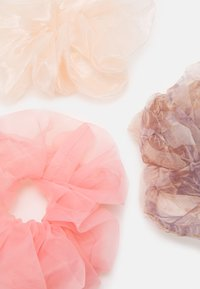 Pieces - PCJACEY SCRUNCHIE 3 PACK - Hair styling accessory - petal pink/pink/purple - 1