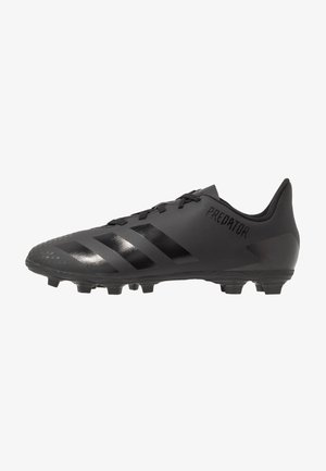 PREDATOR - Moulded stud football boots - core black/dough solid grey