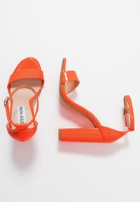 Steve Madden - CARRSON - High heeled sandals - orange - 3