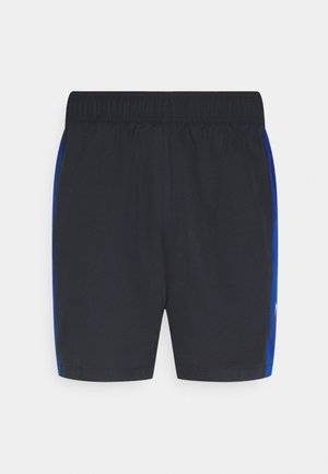TRAINING BLOCKED SHORT - Korte sportsbukser - blue