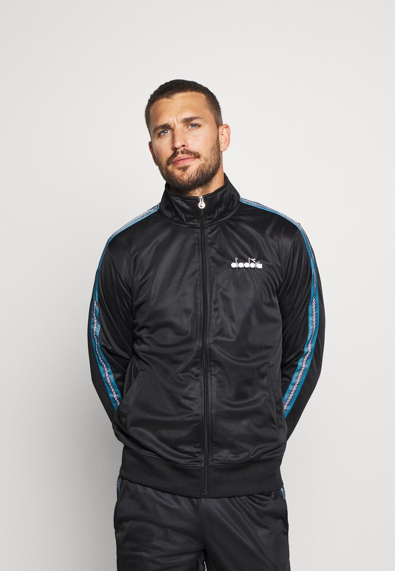Diadora - CUFF SUIT CHROMIA SET - Chándal - black