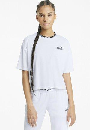 AMPLIFIED TEE - Print T-shirt - white