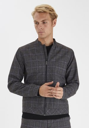 Bomber Jacket - med grey m