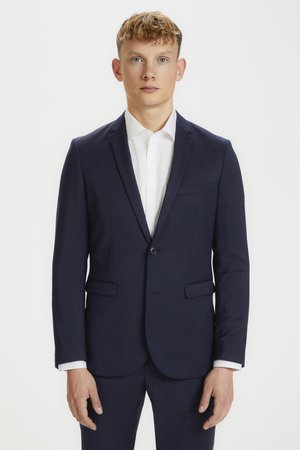 GEORGE F - Blazer jacket - dark navy