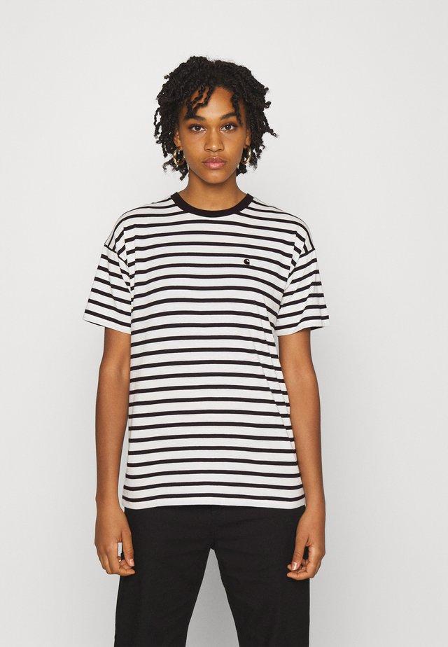 ROBIE - T-shirt print - wax/black