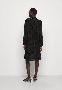 Bruuns Bazaar - ALEXANDRIA CAMARI DRESS - Shirt dress - black - 2