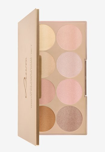 PRIME GLOW PALETTE-ESSENTIAL HIGHLIGHTER SHADES VOL.1 - Face palette - -