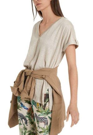 Blouse - cuban sand