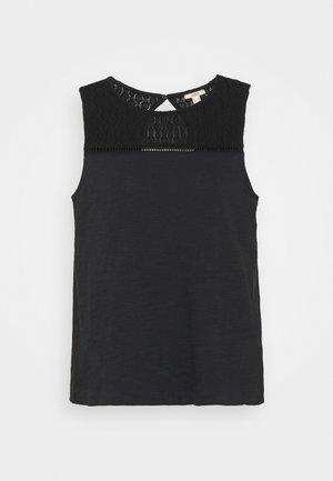 CROCHET - Top - black