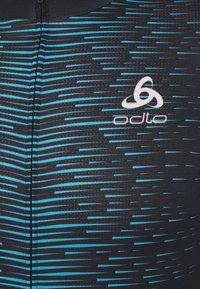 ODLO - STAND UP COLLAR FULL ZIP - T-Shirt print - black - 2