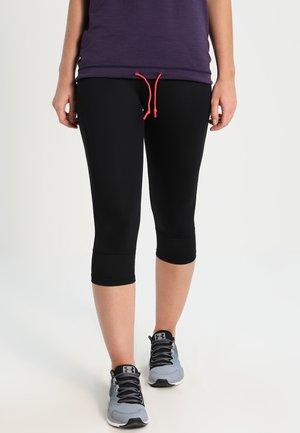 NOMINA - 3/4 sports trousers - black