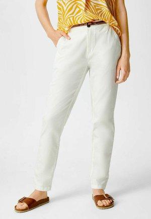 ELINA - Trousers - white