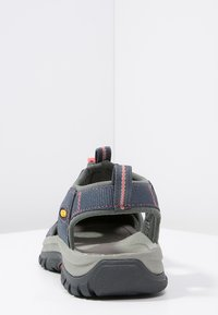Keen - VENICE H2 - Walking sandals - midnight navy/hot coral - 3